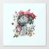 Beautiful Brain Canvas Print