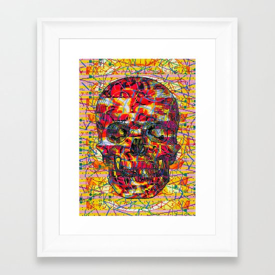 Ticket to Ride (1R) Framed Art Print