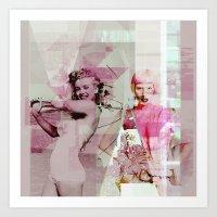 |VOGUE| Art Print
