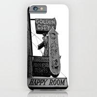iPhone & iPod Case featuring Nostalgic cafe sign by Vorona Photography