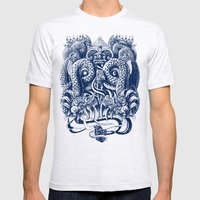 Tlaloc Mens Fitted Tee Ash Grey SMALL