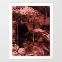 Down The Rabbit Hole, Or… Art Print