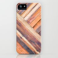 Old Wood iPhone (5, 5s) Slim Case