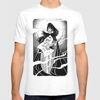 Night Of The Scream Quee… Mens Fitted Tee White SMALL