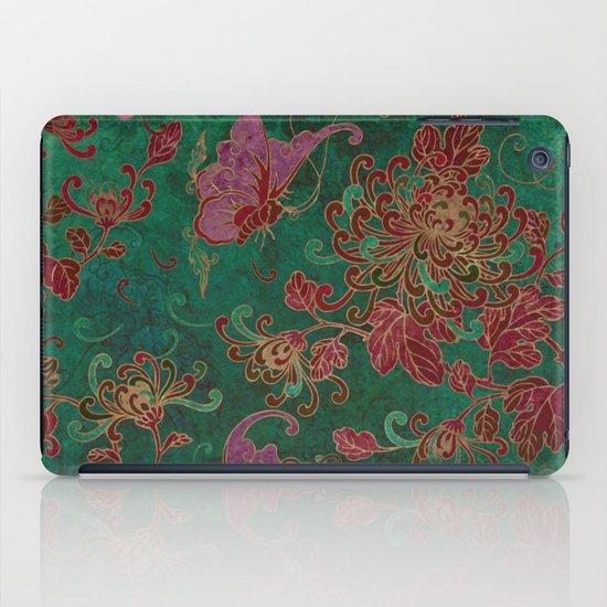 Chrysanthemum Garden iPad Case
