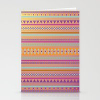 Caliente Tribal Party Stationery Cards