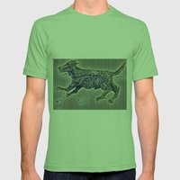 201108 _DOG _1 _20110825… Mens Fitted Tee Grass SMALL