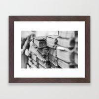 The Book Store Framed Art Print