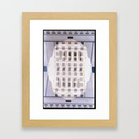 Landscapes c23 (35mm Double Exposure) Framed Art Print