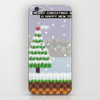 Green Hill Christmas iPhone & iPod Skin