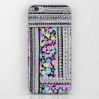 Psychedelic blanket iPhone & iPod Skin