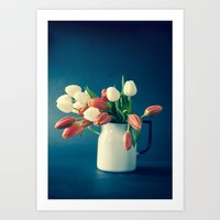 Tulips - Signs Of Spring Art Print