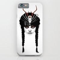 Wakeful Warrior - In Red iPhone 6 Slim Case