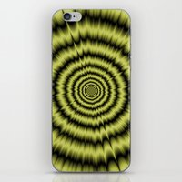 Yellow Explosion iPhone & iPod Skin