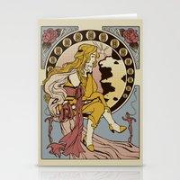 Ma Chere Nouveau Stationery Cards