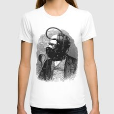 BDSM X Womens Fitted Tee White SMALL