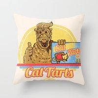 Cat Tarts Throw Pillow
