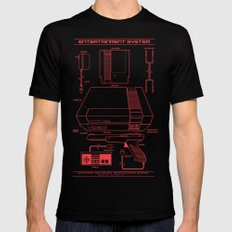 Entertainment System (dark) SMALL Mens Fitted Tee Black