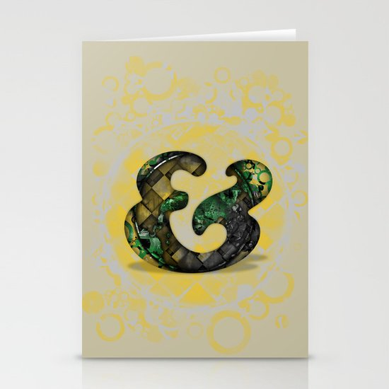 Ampersand Series - Cooper Std Typeface Stationery Card