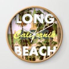 Long Beach, California V.R. Wall Clock