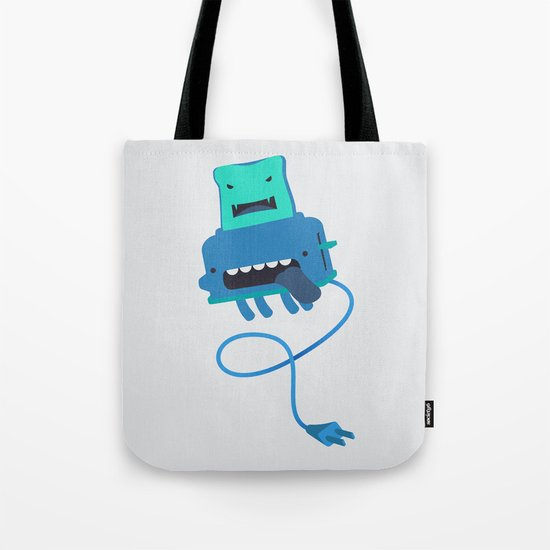 Toast made me do it Tote Bag