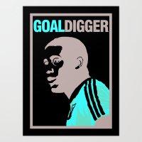 John Barnes - Goal Digger Art Print