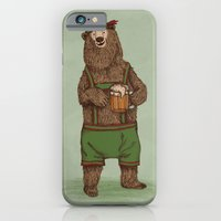 iPhone & iPod Case featuring Traditional German Bear by WanderingBert / David Creighton-Pester