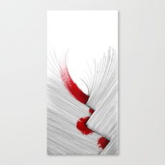 Impact (white version) Canvas Print