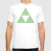 Courage Mens Fitted Tee White SMALL