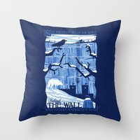 Defend The Wall Throw Pillow