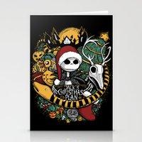 Jack's Christmas Plan Stationery Cards