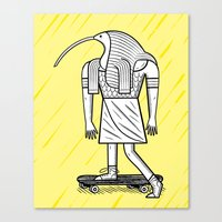 EGYPTiAN GODZ  ~ THOTH Canvas Print