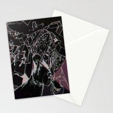 skitzo cat Stationery Cards
