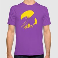 Mephisto Mens Fitted Tee Ultraviolet SMALL