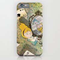 iPhone & iPod Case featuring falling down by Christina Tsevis