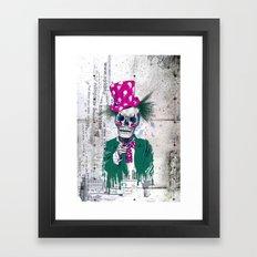 Skully Sam Framed Art Print