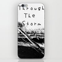 Though The Storm iPhone & iPod Skin