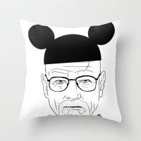 Walt Disney Throw Pillow