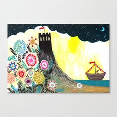 Goodbye Visitor Canvas Print
