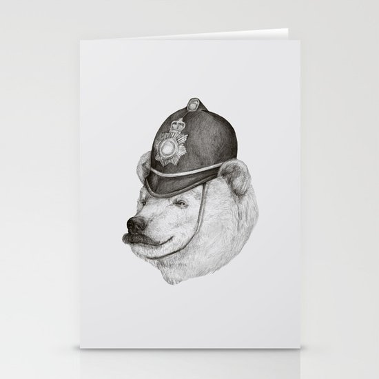 Bearly Legal Stationery Card