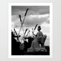 Europe 2 Art Print
