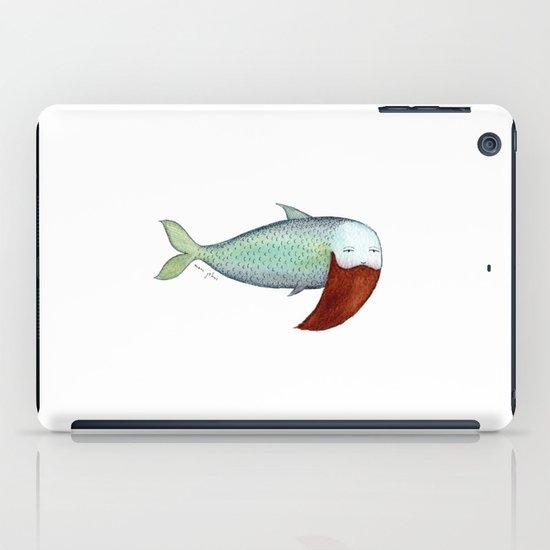 fish with beard iPad Case