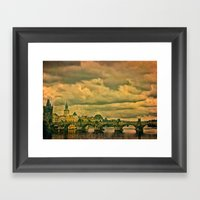 The Charles Bridge - Pra… Framed Art Print