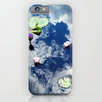 iPhone & iPod Case featuring Water Lily Sky by Mendelsign