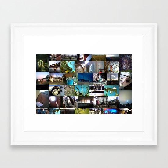 """""""good kid, m.A.A.d city"""" by Cap Blackard Framed Art Print"""