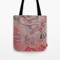 Dick and Jane go to Disneyland Tote Bag
