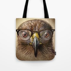 Hipster Eagle Tote Bag