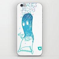 002_rain iPhone & iPod Skin