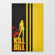 Kill Bill - Minimalist P… Canvas Print