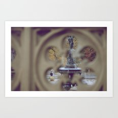 Angel In The Water Art Print